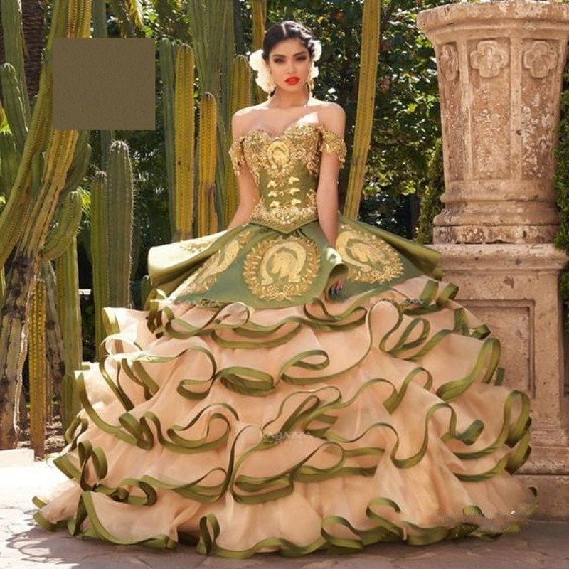 two piece modern quinceanera dress,two pieces quinceaneraes dress,green and gold quinceanera dress,quinceanera dress greenville sc,floral embroidery quinceanera dress,quinceanera dress with horses,ruffled charro quinceanera dress,charro collection quinceanera dress,mexican charra quinceanera dress,custom made quinceanera dress houston tx,2021 quinceanera dress,mexican quinceanera charro dress,