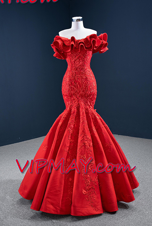 prom dress with lace overlay,off the shoulder mother of the bride dress,red off shoulder prom dress,long fitted mermaid prom dress,red mermaid prom dress,beautiful mermaid prom dress,elegant off shoulder prom dress,elegant mermaid prom dress,